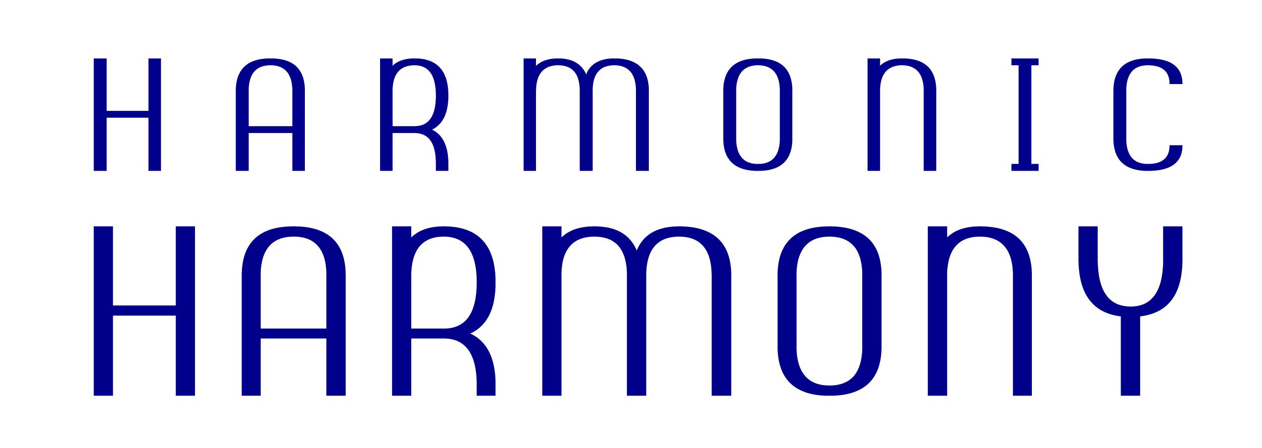 Harmonic Harmony